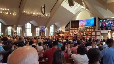 Worshipping at Ebenezer